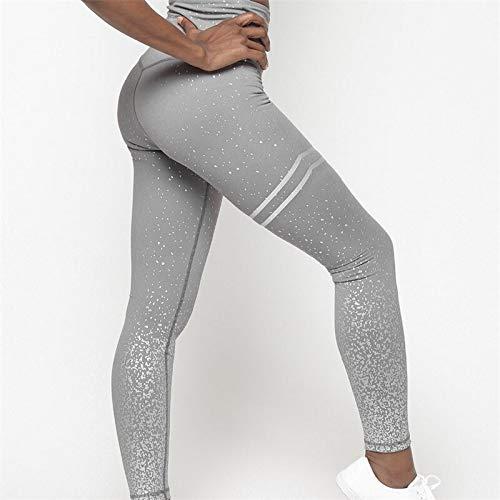 Opprxg Mujeres Cintura elástica Alta Yoga Floral impresión Caliente Pantalones de Yoga Ajustados Gimnasio Entrenamiento Fitness Ropa Medias Ropa Deportiva