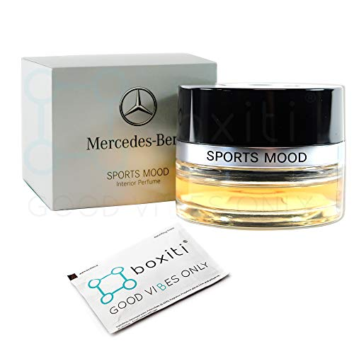 Boxiti Genuine Sports Mood Car Air Freshener - Interior Cabin Atomizer Fragrances for Mercedes C E GLC GLE CLS S Class, Suitable for Cars Equipped Air Balance Package (P21)