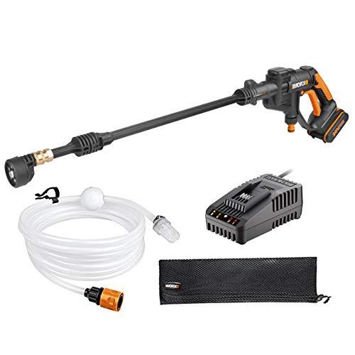 Worx WG629E.10 - Idropulitrice ad alta pressione a batteria, 20 V, con caricatore rapido