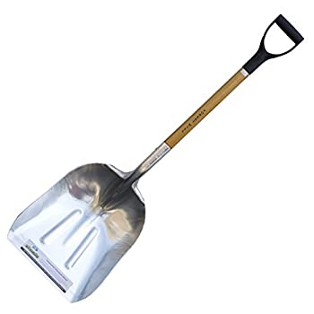 Forest Hill Manufacturing Homeowner Aluminum Scoop Shovel  48-Inch