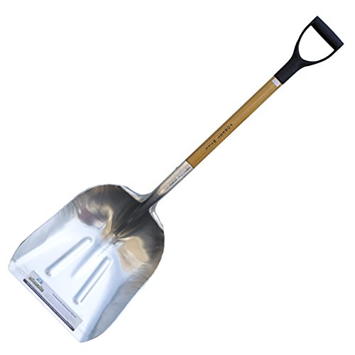 FOREST HILL Manufacturing Homeowner Aluminum Scoop Shovel (48-Inch)