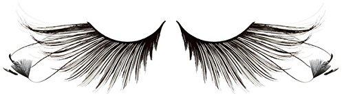 Zinkcolor Feather False Eyelashes F879 Dance Halloween Costume