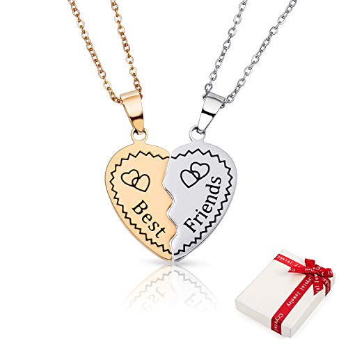 Reino Unido Damas Diseñador Largo Plata Corazón Collar Joyería San Valentín Pesados Grande