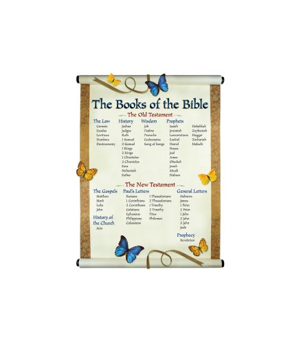 The Books of the Bible Chartlet