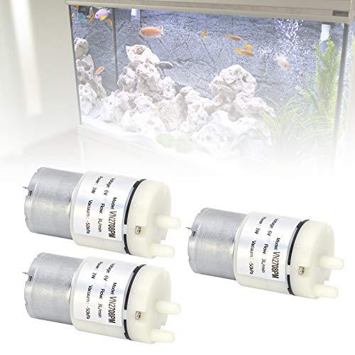 Bomba de micro diafragma Mini bomba de vacío para pecera Mini bomba de vacío para acuario Park Home Villas