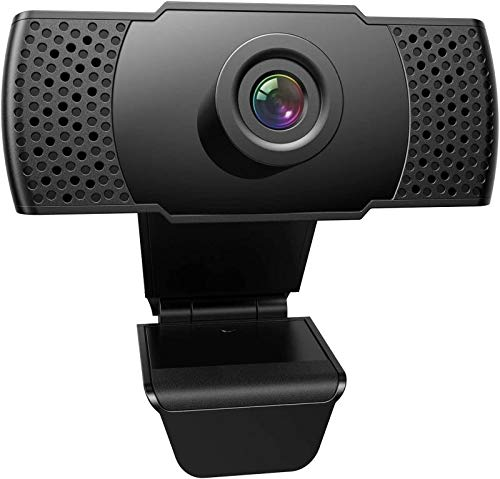 1080P Webcam with Microphone, FRIEET HD Streaming Web Camera, Plug and Play, Wide Angle USB Camera Compatible with PC Computer Laptop Mac Zoom Skype Meeting FaceTime Video Calling Conferencing Games