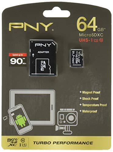 64GB microSDXC Class10 UHS-I アダプタ付 パッケージ