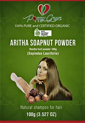 Aritha Reetha Pulver Specknut 100% reines und natürliches Shampoo für Haare