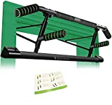 BODYROX Premium Pull up/Chin up Bar | Doorway Home Gym Fitness | Elevated Design, Heavy Duty, Mountable (Elite Pull Up Bar)…