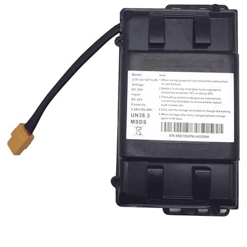 Batterie pour Hoverboard, 10S2P, 36V 4.4AH/5.2AH boîtier de Protection Batterie au Lithium avec BMS, Convient pour Scooter Auto-équilibré, Scooters etc. (36V 5.2 AH)