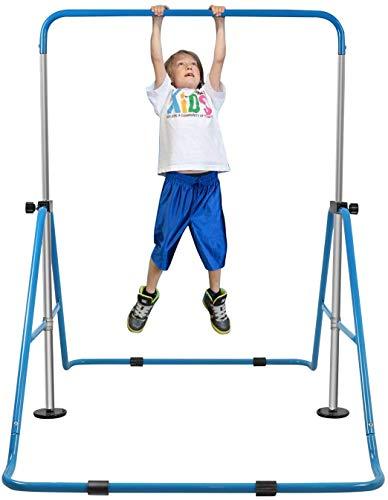 XIAOWEI Gymnastics Horizontal Bars Gymnastics Garden Bar for Children Kids Home Sport Training Equipment Horizontal Gymnastics Adjustable Horizontal