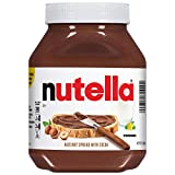 One (1) 35.2 ounce jar of delicious Nutella hazelnut spread, the perfect topping for pancakes, waffles, toast, and more The original hazelnut spread unique in all the world. Made from quality ingredients like roasted hazelnuts and cocoa. Packaged in ...