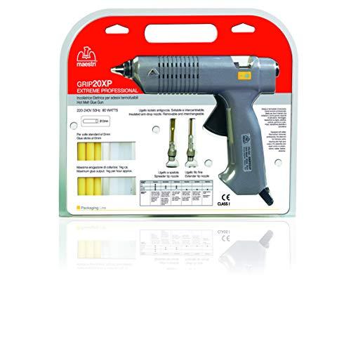 Romeo Maestri - art.0195138 - Pistolet thermocollant 'grip 20 x p 60 w pour colle stick ø 12 mm