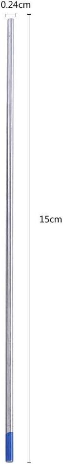 TIG Welding Tungsten Electrodes 2/% Lanthanated Tig Welding Supplies Tungsten 10-Pack Size : 0.09 x 5.9
