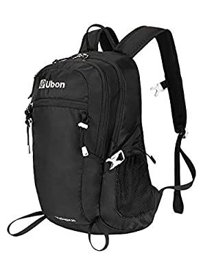 Ubon Lightweight Small Hiking Backpack 20L Commute Travel Daypack College School Day Pack