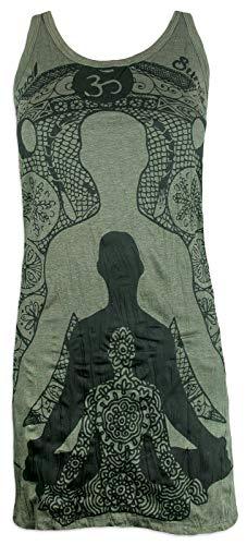 Sure Damesdrager, mini-jurk, yogi, boeddha, sjamane, yoga