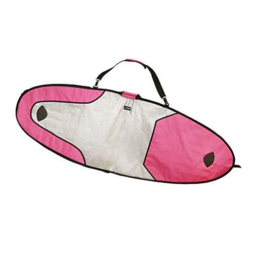 perfeclan Boardbag Windsurfen Boardtasche Sporttasche für Surfboard Surfbrett Longboard Skimboard - Rosa