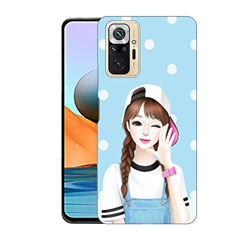 Cute Girl Pattern Redmi Note 10 Pro Cover for Girls