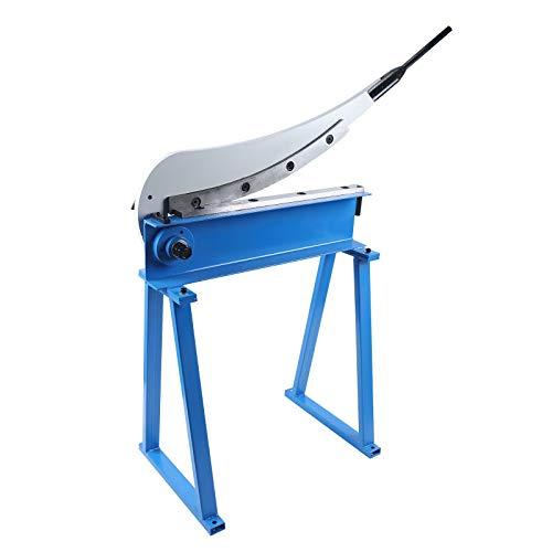 Tijera de palanca manual, para chapa metálica, acero de hoja, guillotina, T10, 500 mm, 50 cm, con bastidor inferior