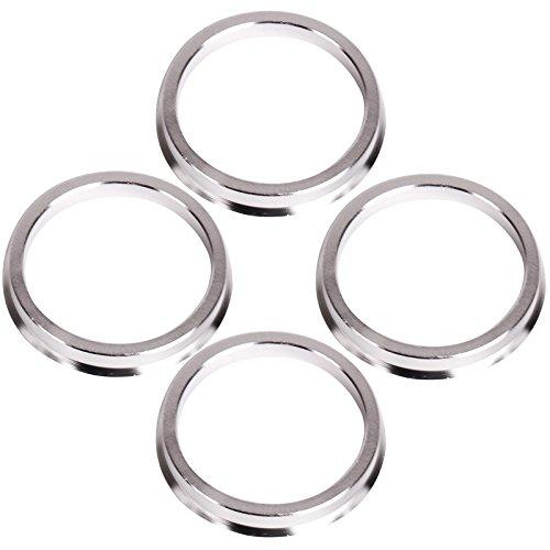 Centradores Lot de 4/adaptateurs pour jantes en aluminium 70,4-57,1/mm