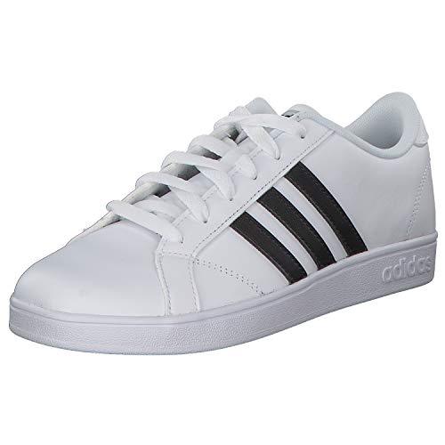 Adidas Baseline K, Zapatillas de Deporte Unisex niño, Blanco (Ftwbla/Negbas/Ftwbla 000), 28 EU