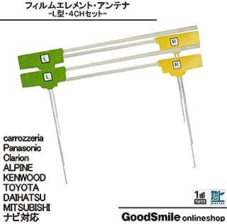 CN-F1SD 対応 地デジ アンテナ フィルム エレメント 4枚 セット 【低価格高品質タイプ】
