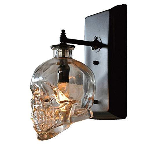 ELEYPH Creative Holy Loft Cráneo Humano Huesos lámpara