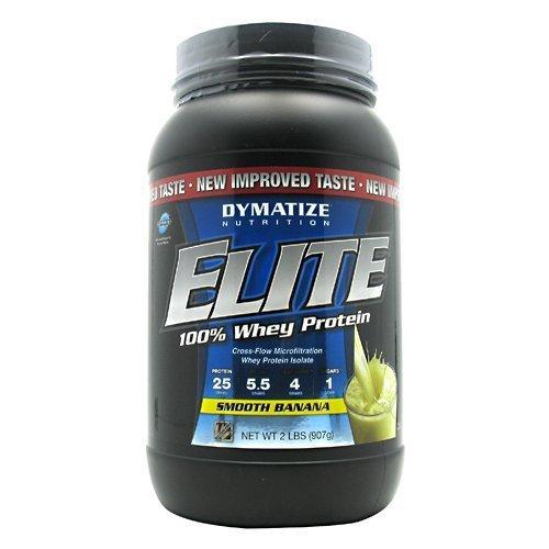 Elite Whey 2 lbs (907 g) Smooth Banana by DYMATIZE