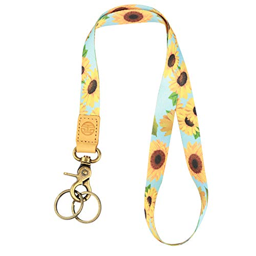 Neck Lanyard Keychain Holder with 2 Free...