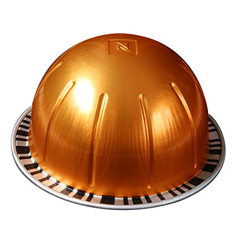 Nespresso VertuoLine Melozio Coffee, Plus 1 Piece Of Dark Chocolate Salted Caramel, For Your First Cup Of Coffee