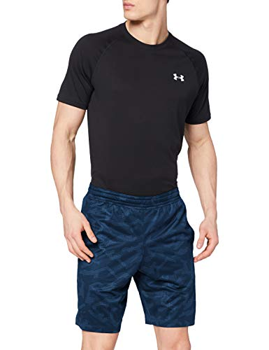 Photo of Under Armour Men's MK1 Short Printed, Academy/Academy, 2X-Large