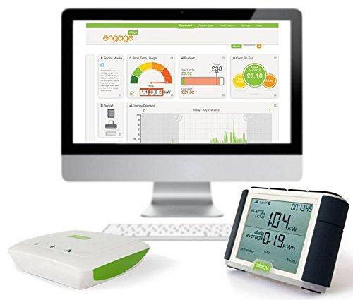Pack Efergy Elite + Engage Hub. Monitor energía consumo eléctrico + gestión internet