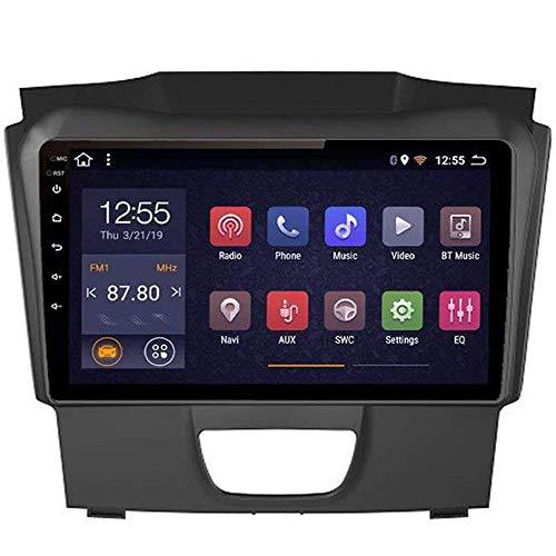 Radio de coche Android 8.1, GPS, pantalla táctil de 9 pulgadas, estéreo, TV, para Chevrolet S10 2015 – 2018, con control en el volante, Bluetooth, manos libres, enlace DAB MP5 SWC, 4G + WIFI2G + 32G