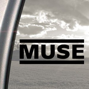 MUSE Black Decal Rock Band Auto Truck Bumper Window Sticker van Ritrama