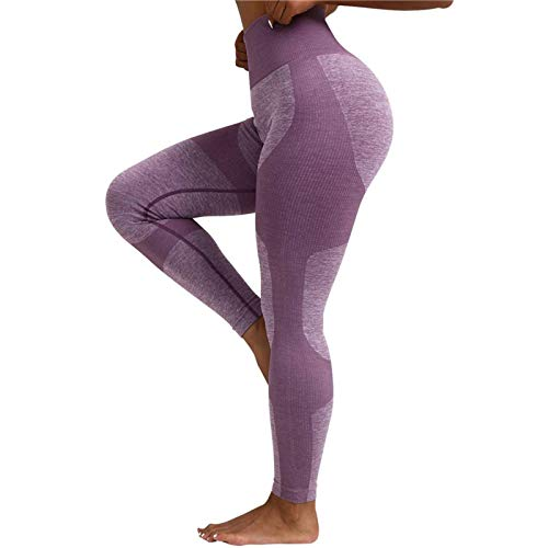 N\C - Leggings para yoga y fitness, pantalones de deporte