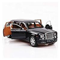 ダイキャストモデルカー 1:24に適用するロールスロイス合金車モデルシミュレーション金属車モデルライトサウンドプルバックスケール車大人の子供向けギフト玩具 (Color : 1)