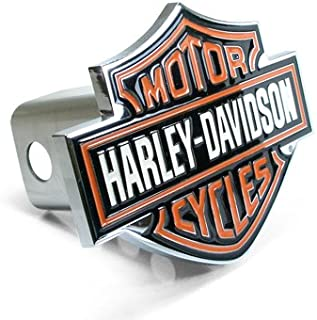Harley-Davidson Harley Davidson Colored Bar and Shield Emblem Metal Tow Hitch Cover