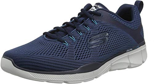 Skechers Equalizer 3.0-52927, Men's Low Top Trainers, Blue (Navy Nvy), 8 UK (42 EU)