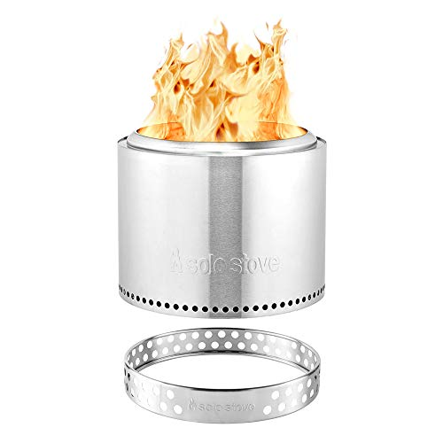 Solo Stove Bonfire, Portable Outdoor Fire Pit