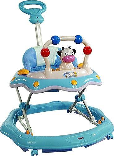 gran selección y entrega rápida Baby Walker - Andador con actividades - - - Primeros Passos ARTI 6320AT Cow Vaca azul  ¡envío gratis!