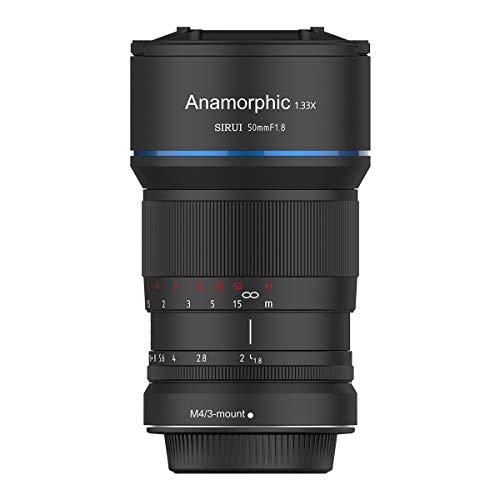 SIRUI SR-MEK7M Objektiv 50mm Anamorphot (Blende f1.8, Faktor 1.33x, Bajonett M4/3-Mount) schwarz