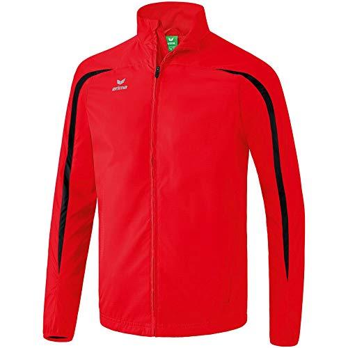 Erima 8060704 Veste Homme, Rouge/Noir, FR (Taille Fabricant : XXXL)