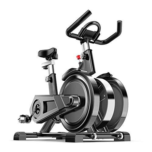 Bicicleta de spinning del equipo de la aptitud, La cubierta ultra silencioso de bicicleta de ejercicios bicicleta estacionaria es un ideal de bicicleta de ejercicios for hombres y mujeres for usar en
