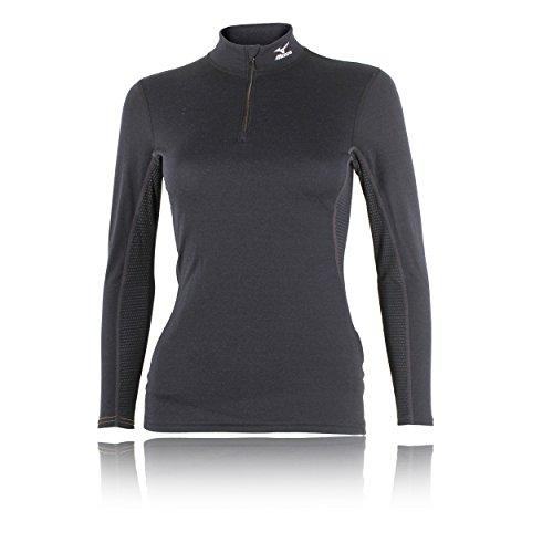 Mizuno Breath Thermo Half Zip Manches Longues Women's T-Shirt Course à Pied - L