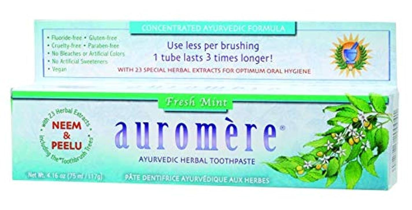 悲しむヨーグルト承認するオーロメア ハーバル歯みがき バルサラ フレッシュミント