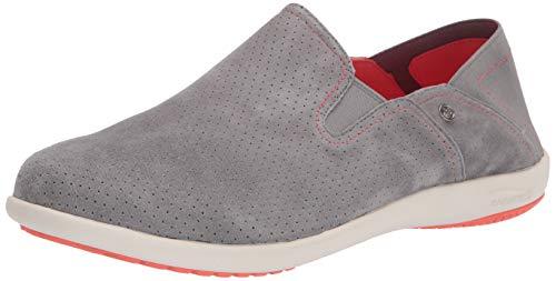 Spenco womens Convertible Slip-on Sneaker, Wild Dove, 8 Wide US