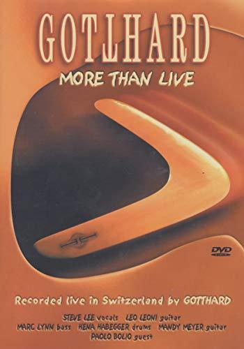 Gotthard - More Than Live [Alemania] [DVD]