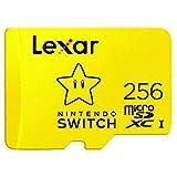 Tarjeta de Memoria Lexar MicroSDXC para Nintendo Switch 256GB con Adaptador SD