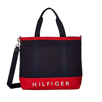 Tommy Hilfiger Womens Sporty Signature North/South Tote
