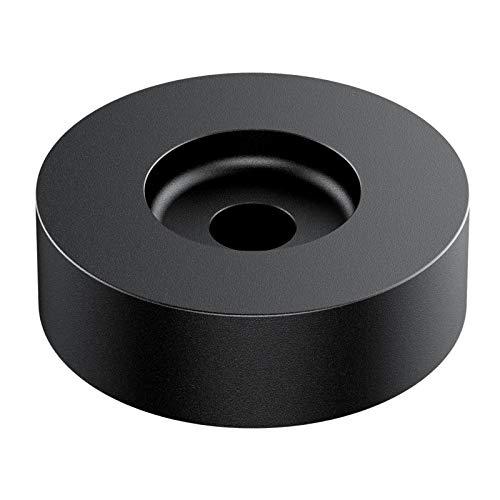 45 RPM Adapter per dischi in vinile da 7 pollici, realizzato in alluminio di alta qualità per stabilità e durata, perfetto per tutti i giradischi